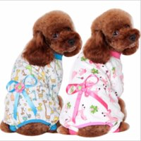 Pet dog clothes winter Home clothing dog four- legged clothes...