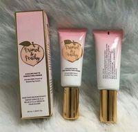 Dropshipping Primed Peachy Cosmetics 40ML 쿨링 매트 스킨 퍼펙 팅 프라이머로 PeachSweet Fig Cream Faced Foundation Primer가 주입 됨