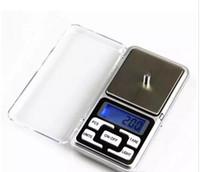 Mini electrónico de bolsillo 200g 0.01g Escala joyería de la escala Balance de la escala del diamante Pantalla LCD con paquete al por menor