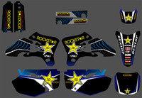 Star New Style TEAM GRAPHICS&BACKGROUNDS DECALS STICKERS Kit...