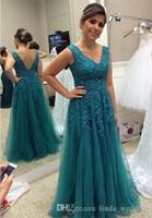 2019 mãe do vestido de noiva aqua uma linha v dique longa madrinha formal de noite festa de casamento convidados vestido plus size personalizado feito