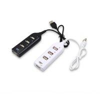 4 или 7-портовый USB-удлинитель Splitter Hi-Speed USB 2.0 Порты концентратора USB 480 Мбит / с, совместимые с USB 1.1 / 1.0