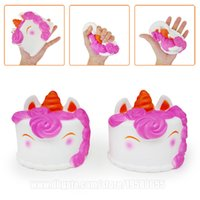 Big Squishy Unicorn Cake 12cm Jumbo Squishies Slow Rising Sc...