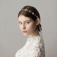 Förderung Rushed Haarkämme Runde Feis Großhandel Mode Concise Style Diamante Elegante Headware Haarspange Zubehör für Braut Hochzeit