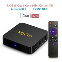 1 кусок!! H96 Max Android TV Box MX10 Rockchip RK3328 4GB 32GB Android 7.1 Smart Media Player с 2.4G 5G Dual Band Wifi Better S912