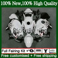 Red flames Body For SUZUKI Hayabusa GSXR1300 96 97 98 99 00 ...