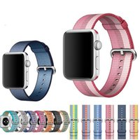 Bracelet en nylon tissé sport pour apple montre 42mm 38mm bracelets bracelet en nylon pour apple watch iwatch 2 1 Edition