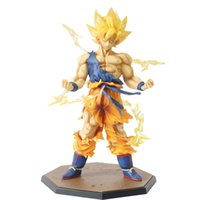 Varejo atacado Dragon Ball Z Goku Super Saiyan Goku Son Box PVC Action Figure Modelo Coleção Toy Presente