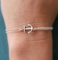 Anchor Chain Bracelet Charm Boho Simple Beach Lovely Anchor ...