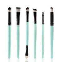 6Pcs / Set 2018 neue Augen Make-up Pinsel Set Professional Make-up Pinsel Lidschatten Nase Pinsel Schwamm Pinsel Concealer Make-up Pinsel