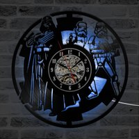 LED Vinyl Record Wall Clock Night Lamp 12 Inch Decoration Ha...