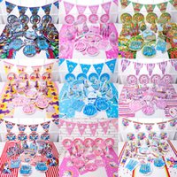 Unicorn Birthday Party Decorations Sets Supplies 38 Designs ...