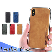 Luxury leather apple phone case for iPhoneXs Max XR Xs simpl...