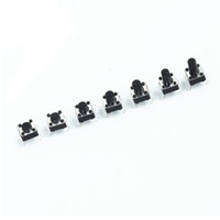 Geen verzendkosten! 70 stks / partij knop schakelaar tas Micro touch schakelaars pakket 6 * 6 * 4,3 / 5/6/7/8/9/10 7 typen elke 10 stks