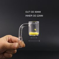 2018 quarzo termico chiodo OD 30mm Allochroic ST818 XXL maschio 10mm 14mm 18mm quarzo bangers per acqua di vetro bong olio rig