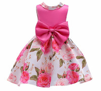 Girl Princess Dress Summer 2018 New Big Child Vêtements Enfant Jupe Imprimée Enfant Jupe Enfant Jupe Enfant
