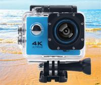 "4k cámara de acción wifi ir a prueba de agua cámara de deporte profesional F60 F60R 2.4G 4K 30fps 1080P 2.0 ""170D Helmet Cam cámara subacuática"