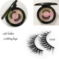 3D mink lashes Silk 3D faux mink Eyelashes Soft and Comforta...