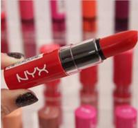 NYX Butter Lippenstift 12 Farben Batom Mate Wasserdichte langlebige Lippenstift ny Tönung Lipgloss Stick Marke Make-Up Maquillage