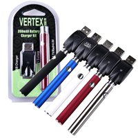 Vertex LO Variable Voltage Battery vv Charger Kit 350mAh CO2...