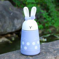 Taza inoxidable multi Pascua historieta del color de doble pared de acero inoxidable de vacío conejo taza de la botella de agua portátil 20 5HY C R