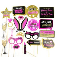 20 Styles Wedding Decoration Photo Booth Prop Team Bride To ...