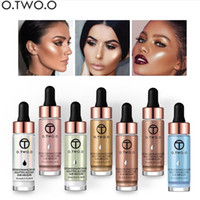 O.TWO.O Flüssiges Highlighter Make Up Primer Shimmer Gesicht Glow Ultra konzentriert Beleuchtungs Bronzing Tropfen Gesicht Make-up
