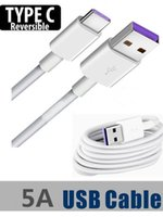 Type C Cable Fast Charging 5A Usb Type- C Cable for Huawei P1...