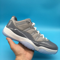 Best quality 11 xi cool grey low male MEN basketball shoes s...