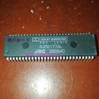 NJM2177AL. PDIP56, JRC CIs de circuitos integrados, pacote de plástico de 56 pinos duplos em linha Chips. NJM2177 DOLBY PRO LOGIC SURROUND DECODIFICADOR IC
