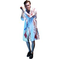 09fe6caffc88d Wholesale doctor nurse costume for sale - Halloween cosplay masquerade  party dress Bloody horror male doctor