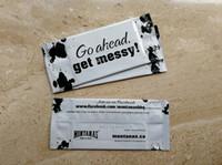 Customized Label Wet Wipes spostato individualmente promuovere il marchio personalizzato usa e getta non tessuto Qualità Tissue FEDEX FreeShip