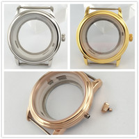 40mm Sapphire Glass Silver Golden Rose Gold Stainless Steel ...