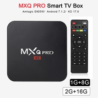 Android tv box mxq pro Quad Core 1G 8GB Amlogic S905W 17. 6 S...