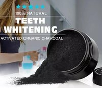 100% Blanchiment des dents naturelles dents naturelles charbon actif poudre blanche Supprimer fumée thé jaune café Taches mauvaise haleine soins bucco-dentaires