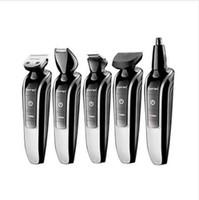 7in1 lavabile capelli elettrico trimmer barba trimero tagliatore di capelli stubble shaver baffi shaper capelli taglio macchina da taglio di capelli