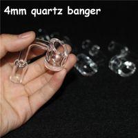أدوات يدوية 4 ملليمتر سميكة النادي السغريات الهاتين كوارتز مسمار 14 ملليمتر الذكور الإناث 90 درجة 100٪ real banger الأظافر أداة