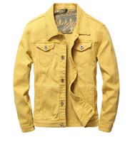 Новейшая мужская твердая джинсовая куртка L с шипами и буквами PABLO Design Весенняя куртка Jean Coats Однобортный размер S-XXXL TXDD