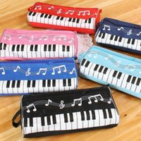 Musical pencilcase piano Cosmetic Cases piano Pencil Bag for...