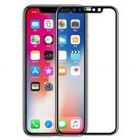 X Cam Kavisli Temperli 5D Film Ekran Koruyucu 9 H Kapak Galaxy iPhone 11 J7 Max Xs XR Tam Pro Samsung J2 J3 J5 J6 8 için Başbakan A6 SVCQF
