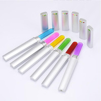 Professtiona Crstal Nail Files Glass Nail File with Stainles...