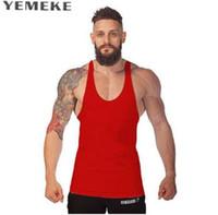 Musculação Marca Regata Dos Homens Topete Regata Camisola Sem Mangas de Fitness Camisa Homem Treino Man Undershirt Roupas