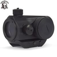 Sinairsoft Новый Тактический Мини Micro T-1 Красный Зеленая Точка Прицел Reflex Прицел с 21 мм Пикатинни Крепление Для страйкбольной охоты