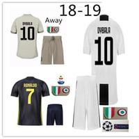 Nova RONALDO DYBALA camisa de futebol 2018 2019 adulto terno MATUIDI PJANIC  D.COSTA MANDZUKIC abaa48d878c72