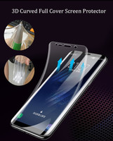 3D Curved Full Cover Ultra- thin Clear Soft TPU Screen Protec...