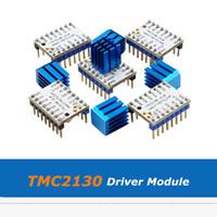 Parte stampante 5pcs 3D Ultra-Silent MKS V1.0 TMC2130 driver del motore passo modulo con dissipatore di calore