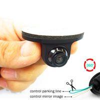 CarBest Mini CCD Com visione notturna di HD 360 gradi macchina fotografica di retrovisione Macchina fotografica anteriore frontale Vista laterale inverte la macchina fotografica di sostegno