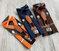 21 الألوان الأطفال مطاطا الحمالة الأزياء Y الشكل الكتف الحمالات القوس التعادل قابل للتعديل حزام 4 كليب الحمالات الاطفال مجموعات C3249