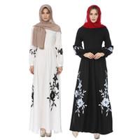 Heißer verkauf malaysia muslimischen robe dubai abaya marokkaanse kaftan weißes kleid islamischen kaftan kleidung türkische dame jurken musulmane kleider weiß