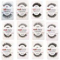 RED CHERRY Faux Cils Naturels Longs Cils Extension Maquillage Professionnel Faux Cils Faux Ailé Faux Cils